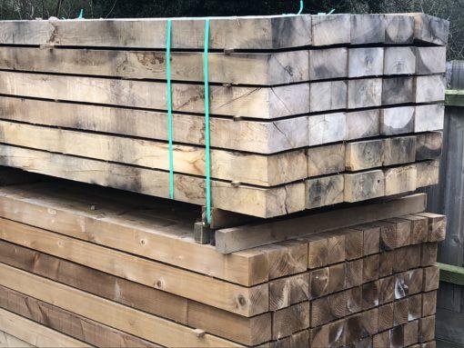 Oak Hardwood Sleepers - Tarmec & Croft - 01787 224848