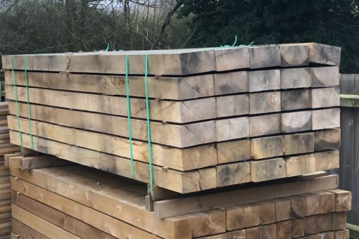 Oak Hardwood Sleepers - Tarmec & Croft - 01787 224848
