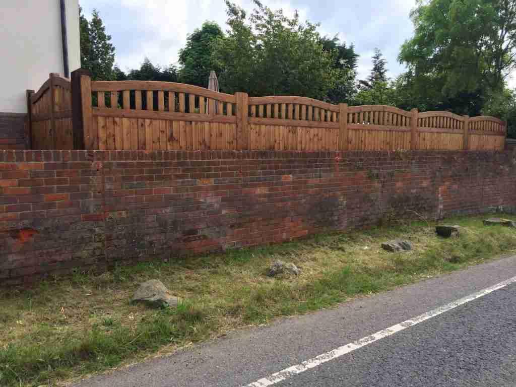 Bespoke Fence panels - Halstead - Tarmec & Croft 01787 224848