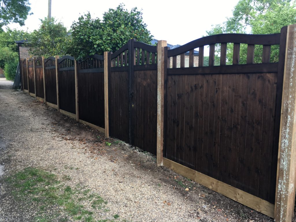 Bespoke joinery fence pannels - Colne - Tarmec and Croft fencing and gates - 01787224848