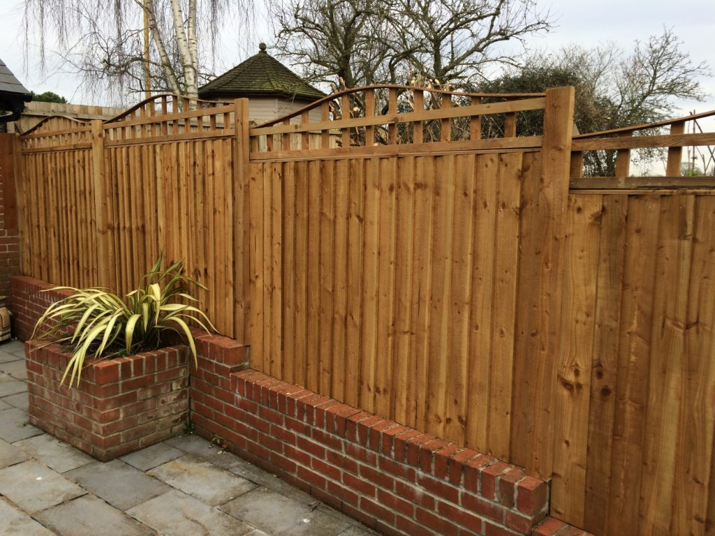 Fencing with Bow Top Trellis Tarmec and Croft, Suffolk, 01787 224848