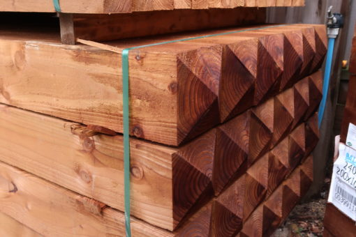 pointed top wooden gate posts tarmec and croft fencing and gates 01787 224848