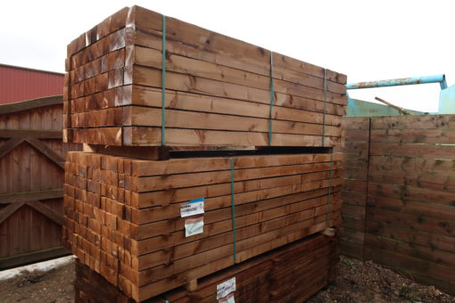 softwood timber posts - Tarmec and croft fencing and gates ltd 01787 224848