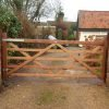 5 Bar gate Softwood Tarmec and Croft fencing and gates 01787 224848