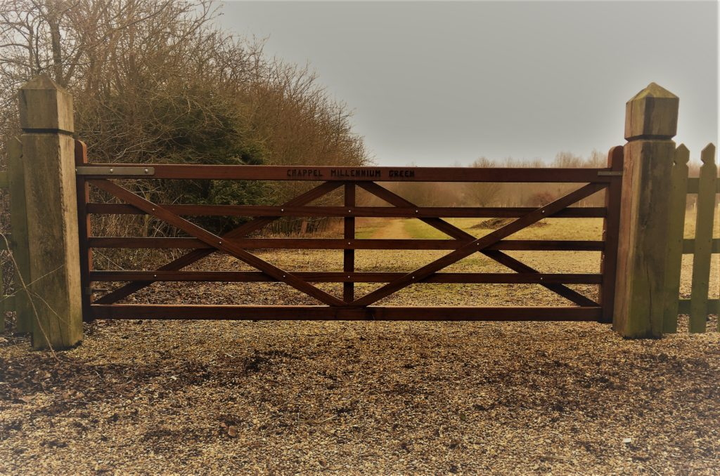 Bespoke 5 Bar Gate design Tarmec and Croft fencing and gates 01787 224848