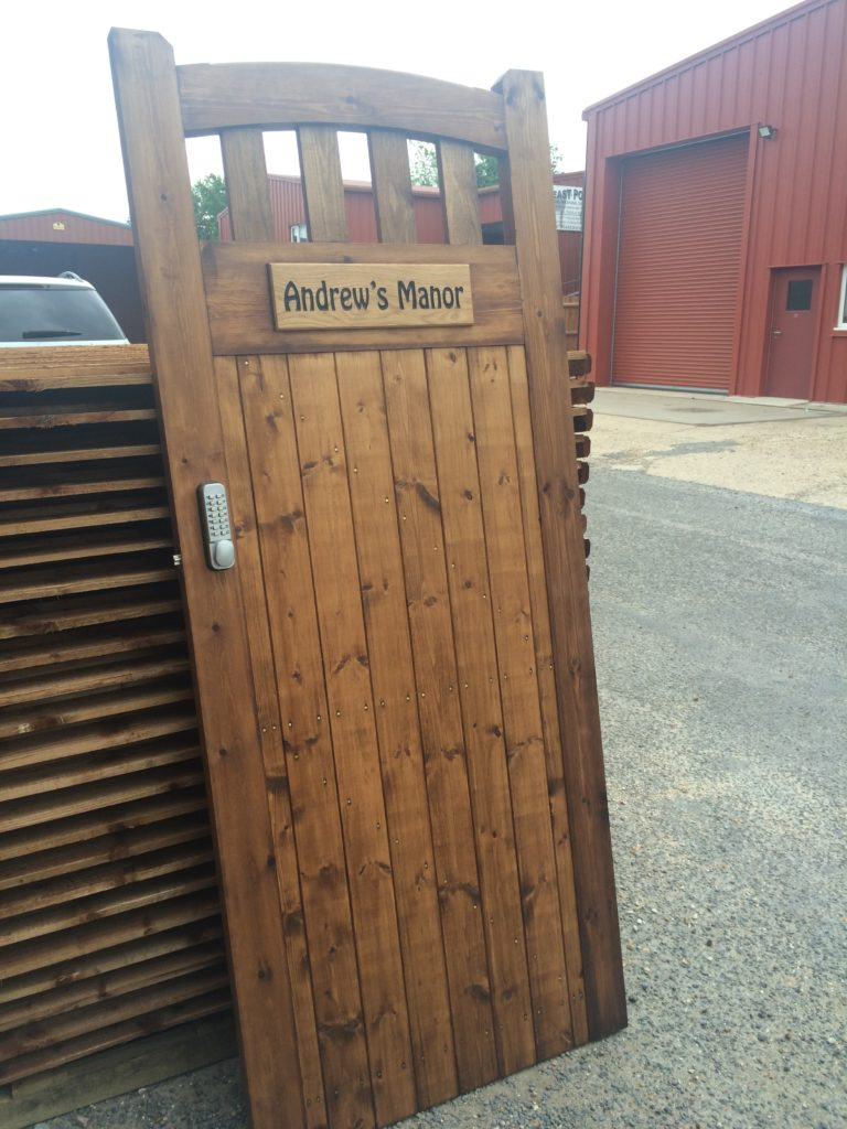 Bespoke Gate Designs Essex Tarmec and Croft