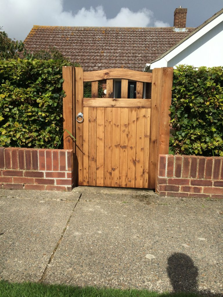 Small Colne Valley Side Gate tarmec and Croft fencing and gates 01787 224848