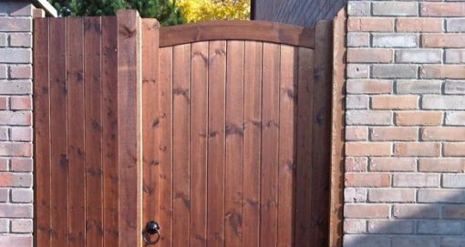 sudbury bow top gate for icon tarmec and croft fencing and gates 01787 224848