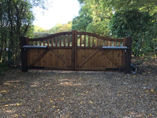 Colne Valley Driveway Gate Tarmec and Croft Fencing and Gates Ltd