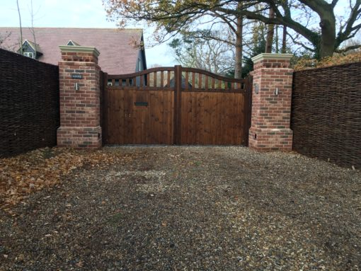 Colne Valley automated Driveway Gates Essex Tarmec and Croft Fencing and Gates Ltd