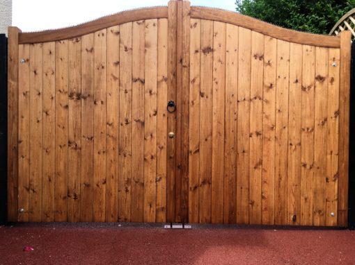 Essex Bow Top Entrance Gates tarmec and Croft