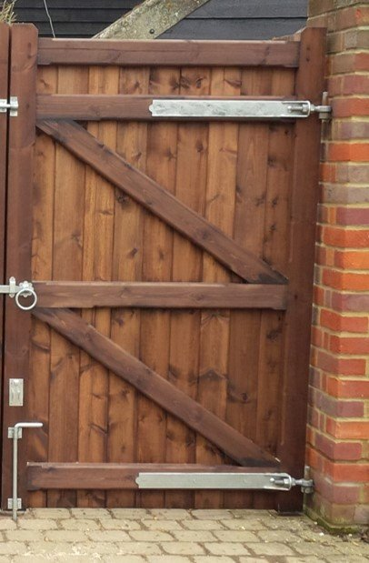 Galvanised hook and band fixtures tarmec and croft fencing and gates 01787 224848
