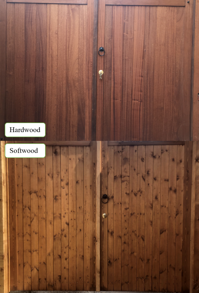 Hardwood softwood example tarmec and croft fencing and gates 01787 224848