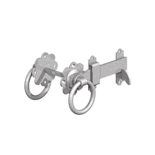 Ring latch alone galvanised - tarmec and croft fencing and gates ltd 01787 224848