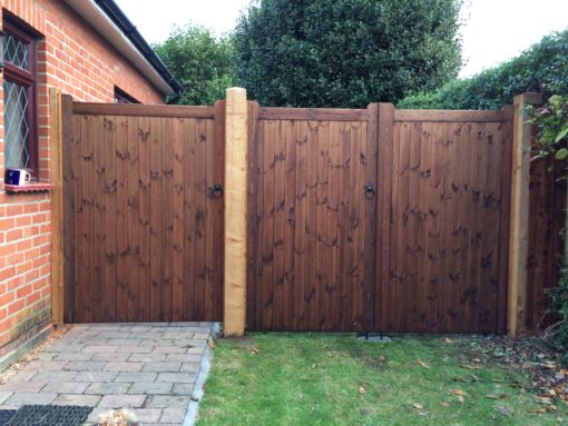 Straight Top Made to Measure Gates tarmec and croft