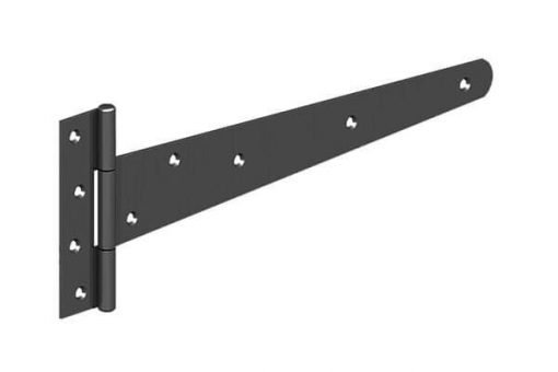 T-hinge black alone - tarmec and croft fencing and gates ltd 01787 224848