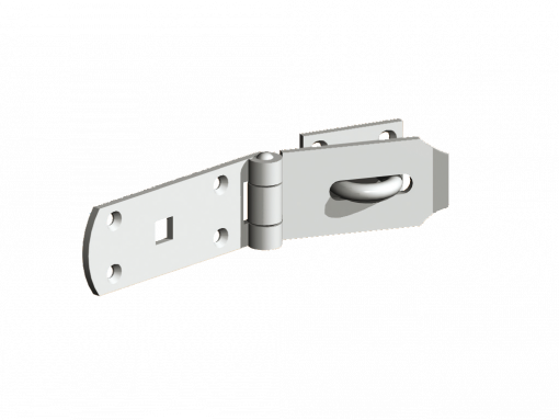 safety hasp and staple - tarmec and croft fencing and gates iron work - 01787 224848