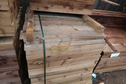 3ft featheredge stock view - tarmec and croft fencing and gates ltd 01787 224848