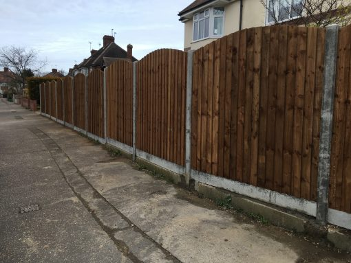 Arch Top Closeboard Panels Colchester Tarmec and Croft Fencing and Gates Ltd 01787 224848