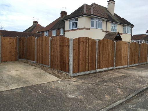 Arch Top Fence Panels Essex Tarmec and Croft Fencing and Gates Ltd 01787 224848