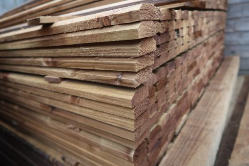 panel cap rails - smaller - wooden timber fencing materials supply retail and trade - tarmac and croft fencing and gates ltd 01787 224848