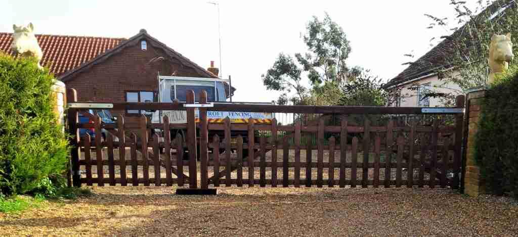 5 Bar Gates Picketed Tarmec and Croft 01787 224848
