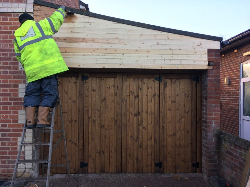 wood treatment aplication tarmec and croft fencing and gates ltd 01787 224848
